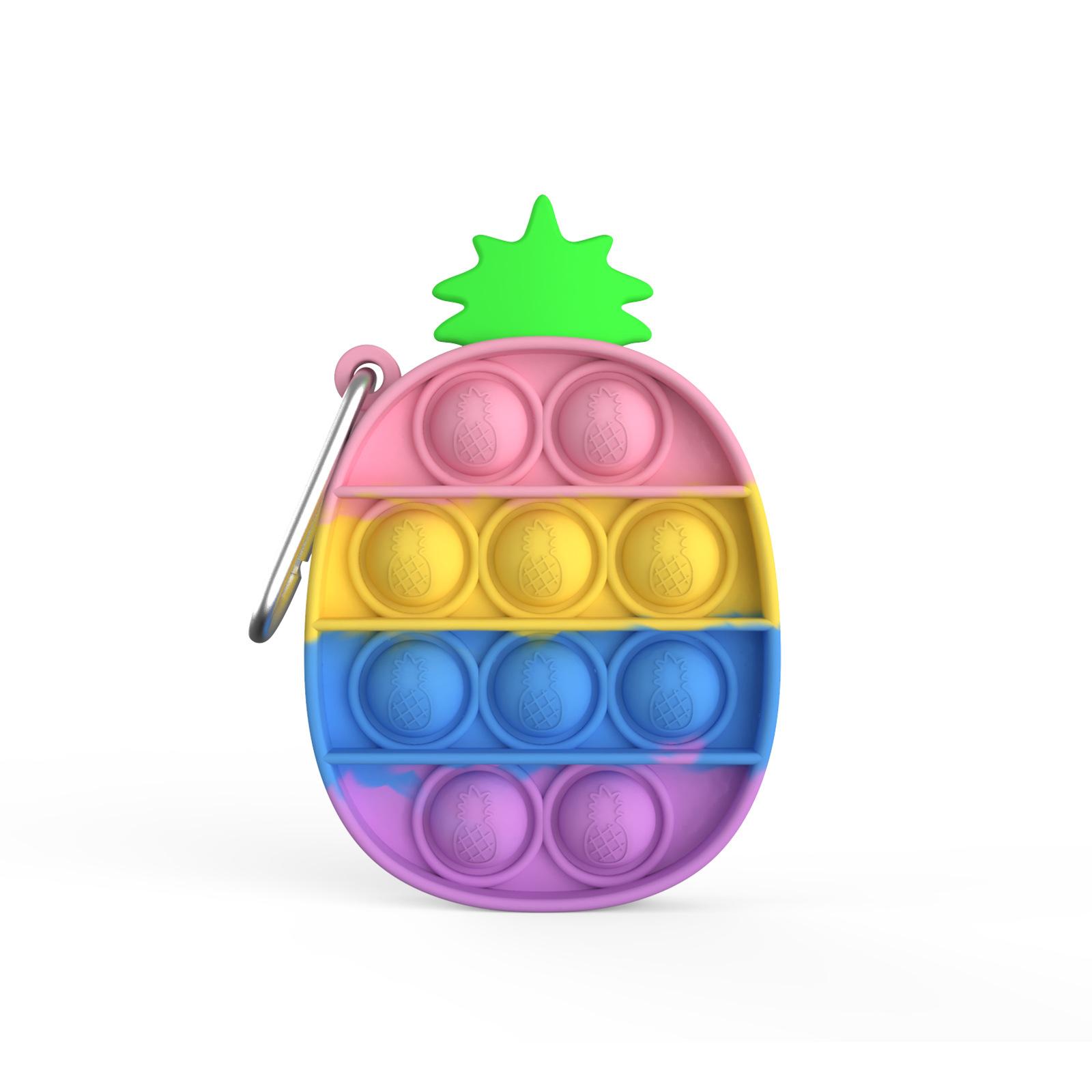 Đồ chơi bóp bong bóng thiết kế dạng móc khóa vui nhộn tiện lợi