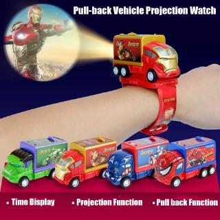 Đồng hồ đeo tay điện tử phong cách hoạt hình cho bé trai