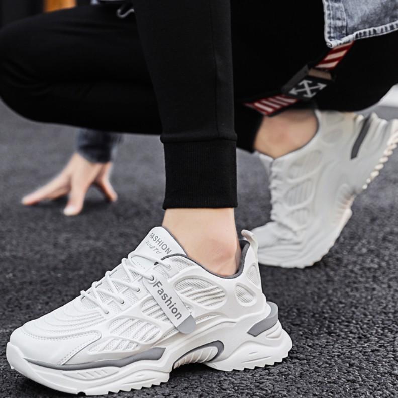 Giày Thể Thao Nam Cổ Thấp Fom chuẩn Ôm chân Mẫu Mới Nhất Bán Chạy Nhất
