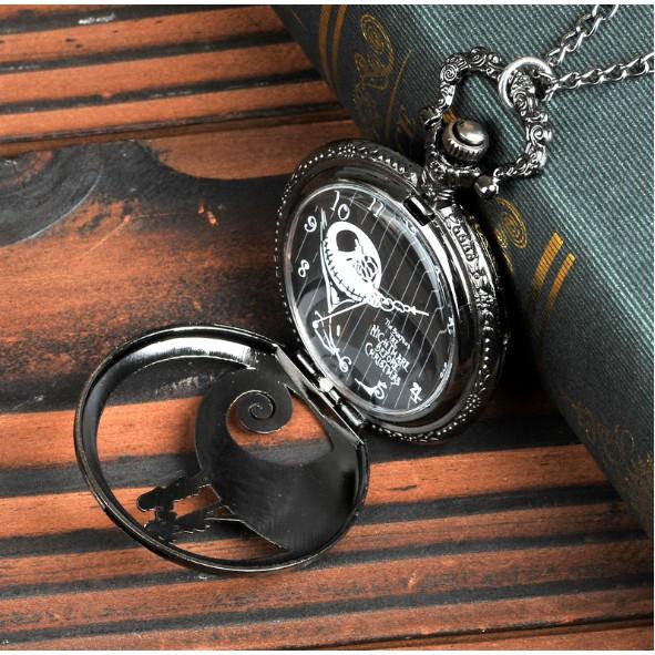 Đồng hồ nam dây chuyền quả quýt Q009 Size lớn