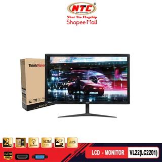 Màn hình máy tính LCD 22 VSP VL22 (LC2201) - kết nối VGA HDMI (Đen) - Hãng phân phối chính thức thumbnail