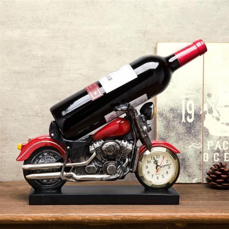 ที่วางขวดไวน์สไตล์ยุโรปสร้างสรรค์ย้อนยุค