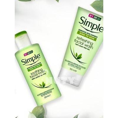 COMBO Sữa rửa mặt + Toner Simple