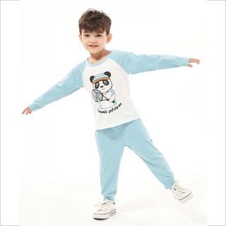 Đồ bộ cho bé trai Beddep Kids Clothes chất nỉ trơn in hình B21 thumbnail