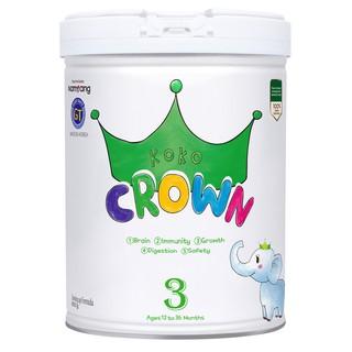 Sữa bột dinh dưỡng Koko Crown 3 dành cho trẻ từ 12 - 36 tháng tuổi 800g hộp