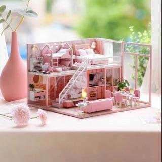 Mô hình nhà gỗ lắp ráp búp bê dollhouse DIY – Kèm Mica – L027 Meeting Your Sweet