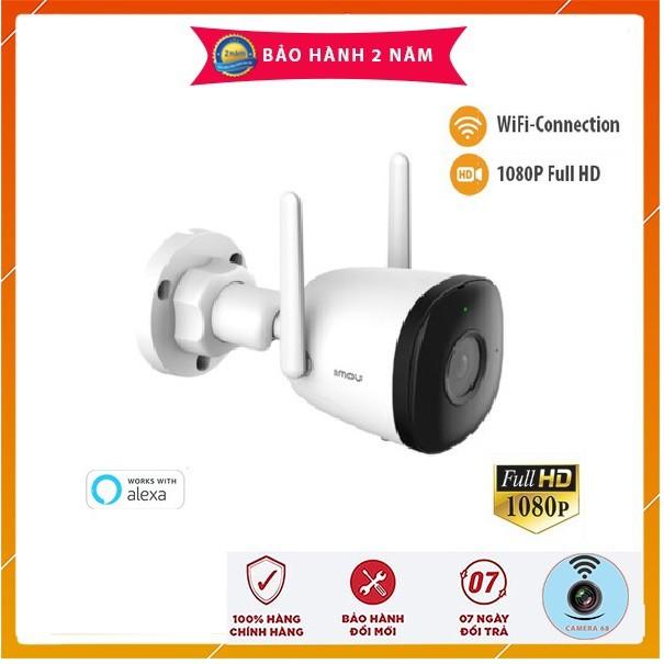 Camera IP 2M WiFi Ngoài Trời IMOU F22P Bullet 2C G26EP G22P 1080P FullHD  Còi Hú, MÀU BAN ĐÊM Dahua Việt Nam