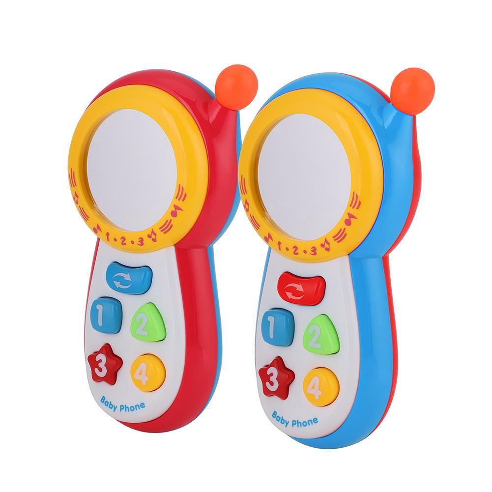 Educational Baby Cell Mobile Phone with Sound and Mirror