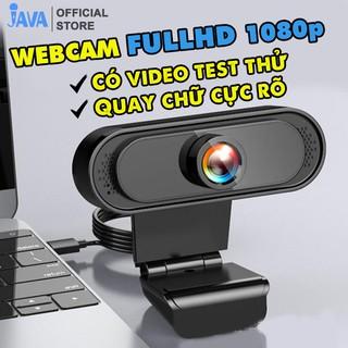 [QUAY CHỮ CỰC RÕ] Webcam máy tính FullHD 1080p rõ nét - Thu hình cho máy tính, pc, TV, để bàn - Rõ nét - Chân thực