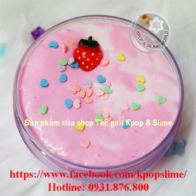 Slime bơ Dâu Tình Yêu