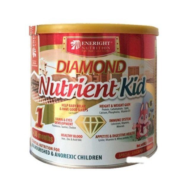 [LẺ GIÁ SỈ] Sữa Bột Diamond Nutrient Kid 1 2 700g
