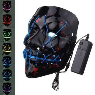 Mặt nạ Thanh trừng có đèn LED hóa trang Halloween hh44