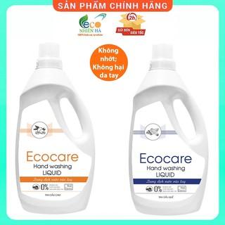 Nước rửa tay ECOCARE 1L hữu cơ, nước rửa tay diệt khuẩn siêu nhanh dạng bọt thumbnail