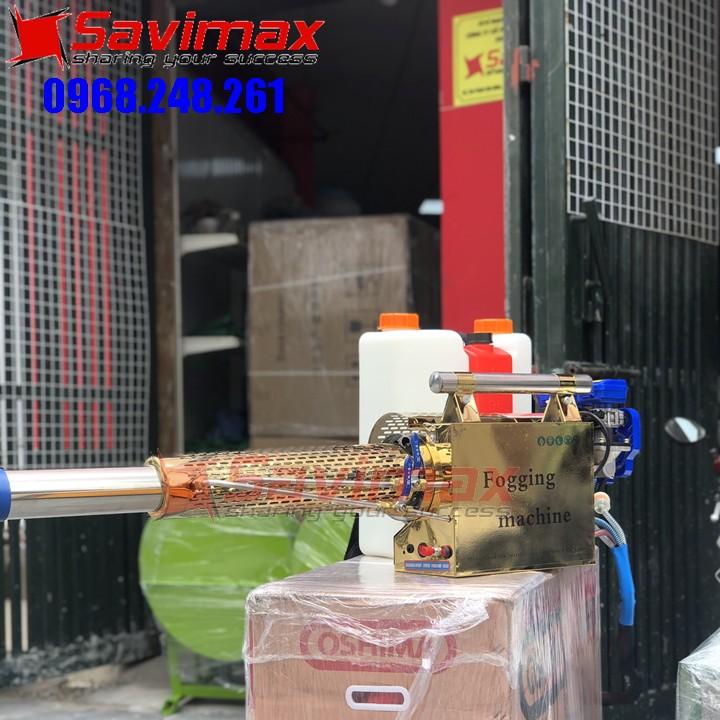 Máy phun khói phun khử trùng trường học, lớp học Fogging Machine FM-180SV hiệu quả tại Đà Nẵng