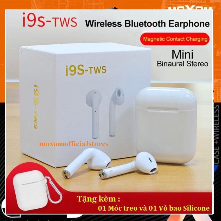 Tai Nghe Bluetooth Không Dây I9S TWS Âm Thanh Cực Hay Tặng 1 Bao Đựng Silicon VÀ 1 MÓC KHÓA - 15347753 , 1784850859 , 322_1784850859 , 289000 , Tai-Nghe-Bluetooth-Khong-Day-I9S-TWS-Am-Thanh-Cuc-Hay-Tang-1-Bao-Dung-Silicon-VA-1-MOC-KHOA-322_1784850859 , shopee.vn , Tai Nghe Bluetooth Không Dây I9S TWS Âm Thanh Cực Hay Tặng 1 Bao Đựng Silicon V