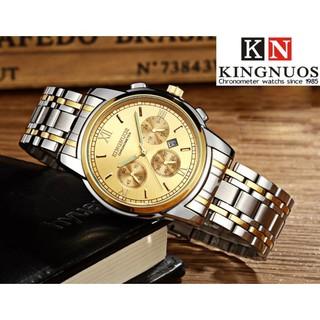 Đồng hồ nam , đồng hồ đeo tay chống nước, chống xước chính hãng KINGNUOS cao cấp [Tặng vòng tỳ hưu mang lại sự may mắn]
