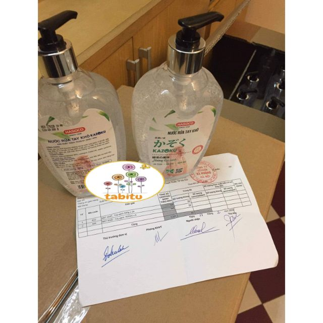 Nước rửa tay khô KAZOKU 500ml NRT