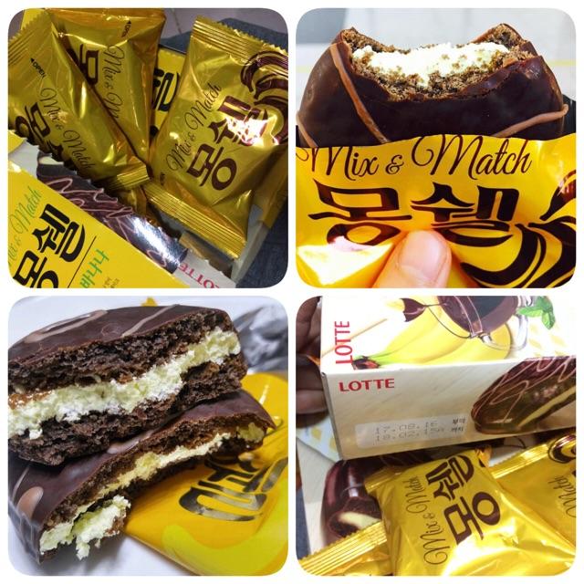  3 bánh Hàn  Lotte Mix & Match Banana - 2999972 , 727224077 , 322_727224077 , 21000 , 3-banh-Han-Lotte-Mix-Match-Banana-322_727224077 , shopee.vn ,  3 bánh Hàn  Lotte Mix & Match Banana