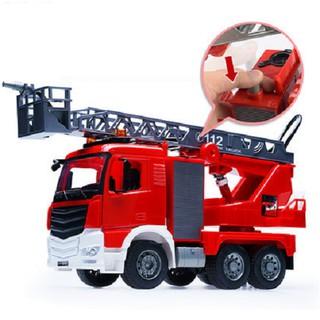 Xe cứu hỏa cỡ lớn đồ chơi trẻ em phun nước được mô hình tỉ lệ 1:20 có âm thanh