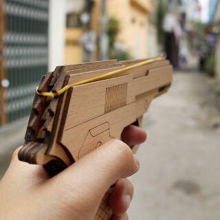 Mô hình súng gỗ