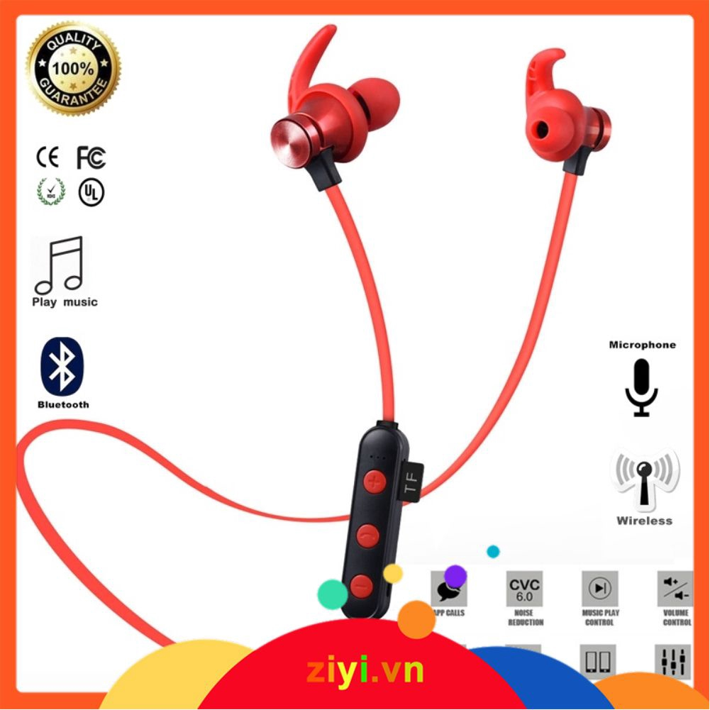 ✨ Tai nghe thể thao chống nước có nam châm kết nối Bluetooth