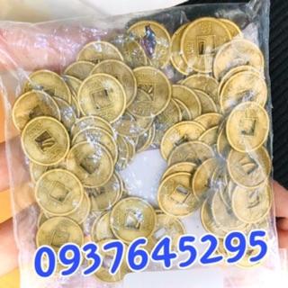 100 đồng xu phong thuỷ loại nhỏ