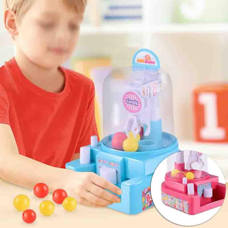 Mini Creative Manual Candy Grabber Toy Ball Machine Brain Game Toy Kids Children