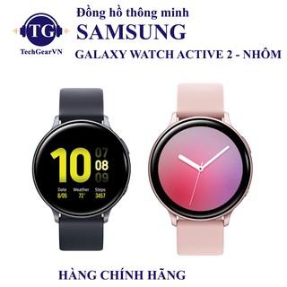 [Mã ELMS5TR giảm 5% đơn 5TR] [LTE - Nhôm] Đồng hồ thông minh Samsung Galaxy Watch Active 2