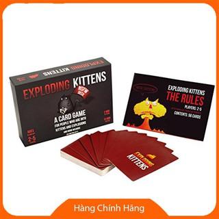 Bài Mèo Nổ Exploding Kittens NSFW Giá Rẻ_Hàng chất lượng cao
