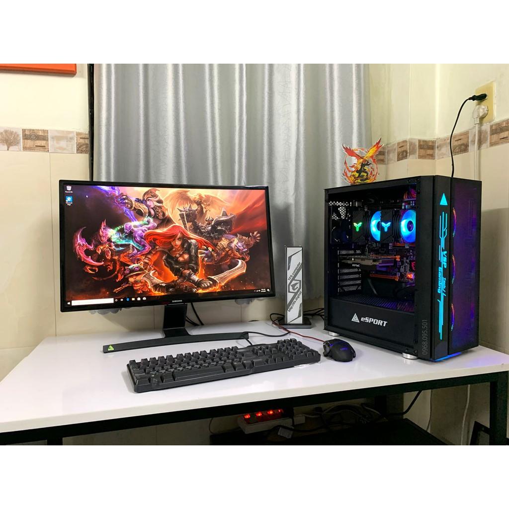 Bộ máy tính bàn Xeon Đa Nhiệm 24C/ 48T Ram 32G/ SSD 256G