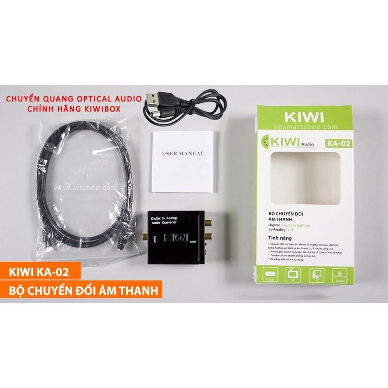Hộp chuyển quang sang Audio chính hãng KIWI - KA-02