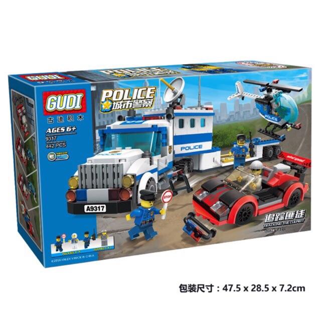 Lego police 9317 - Theo dấu tội phạm