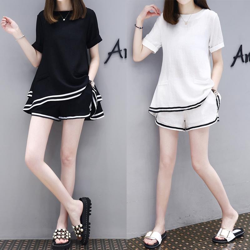set đồ bộ ngắn tay phong cách năng động trẻ trung dành cho nữ - 13904496 , 2296056466 , 322_2296056466 , 223200 , set-do-bo-ngan-tay-phong-cach-nang-dong-tre-trung-danh-cho-nu-322_2296056466 , shopee.vn , set đồ bộ ngắn tay phong cách năng động trẻ trung dành cho nữ