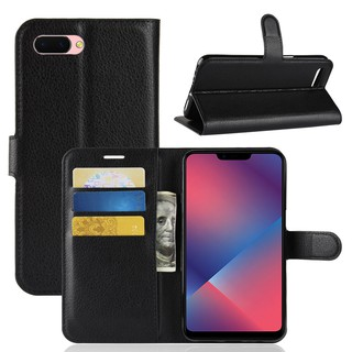 🎖OPPO R15 Leather Wallet Flip Case With Card Slot