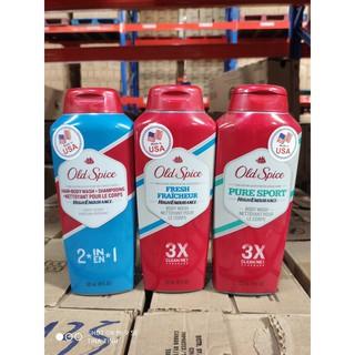 Sữa tắm-gội Old Spice 532ml- hàng nhập mỹ