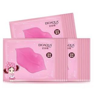 Mặt Nạ Dưỡng Môi Bioaqua hàng Nội địa Trung chính hãng giúp căng bóng, xóa thâm môi