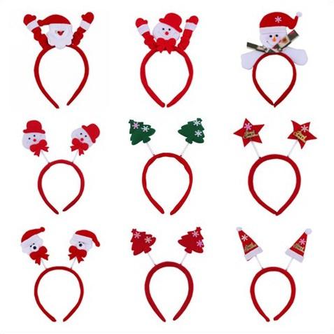 宸 Tao Christmas costumes tiara props adult children's headband headband Christmas old bear snowman antlers headband hayb