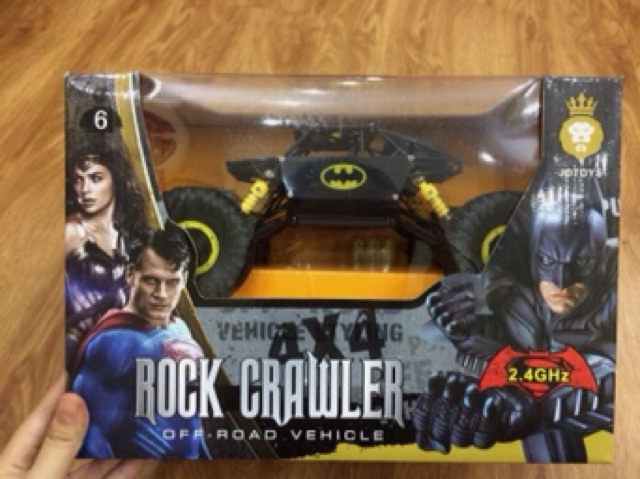 Xe đồ chơi địa hình điều khiển Batman