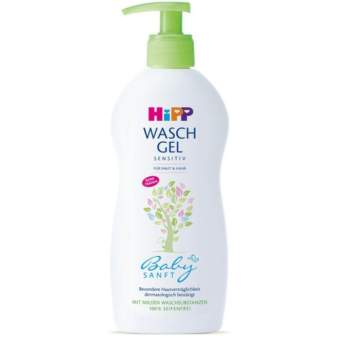 Tắm gội cho bé 2 trong 1 HiPP Organic - 9530 400ml
