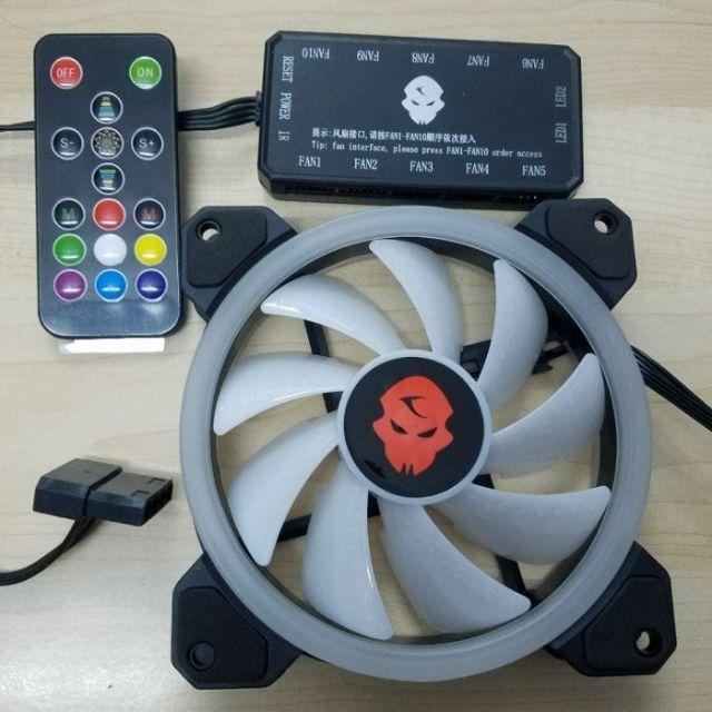 Hub + Điều khiển RGB coolman sunshine