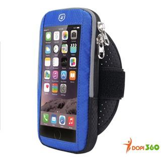 Túi đeo tay chạy bộ DOPI360 đựng điện thoại phản quang DOPI19
