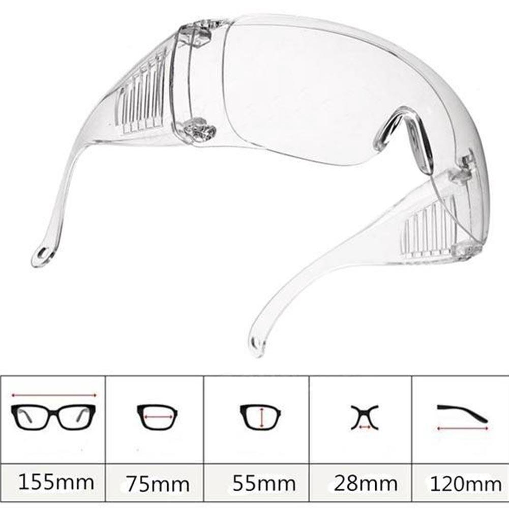 Kính bảo hộ mắt thiết kế trong suốt thoải mái tiện dụng