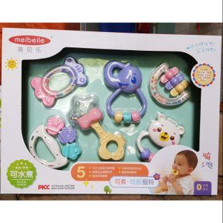 Bộ đồ chơi xúc xắc 6 chi tiết, hàng có hộp nội địa