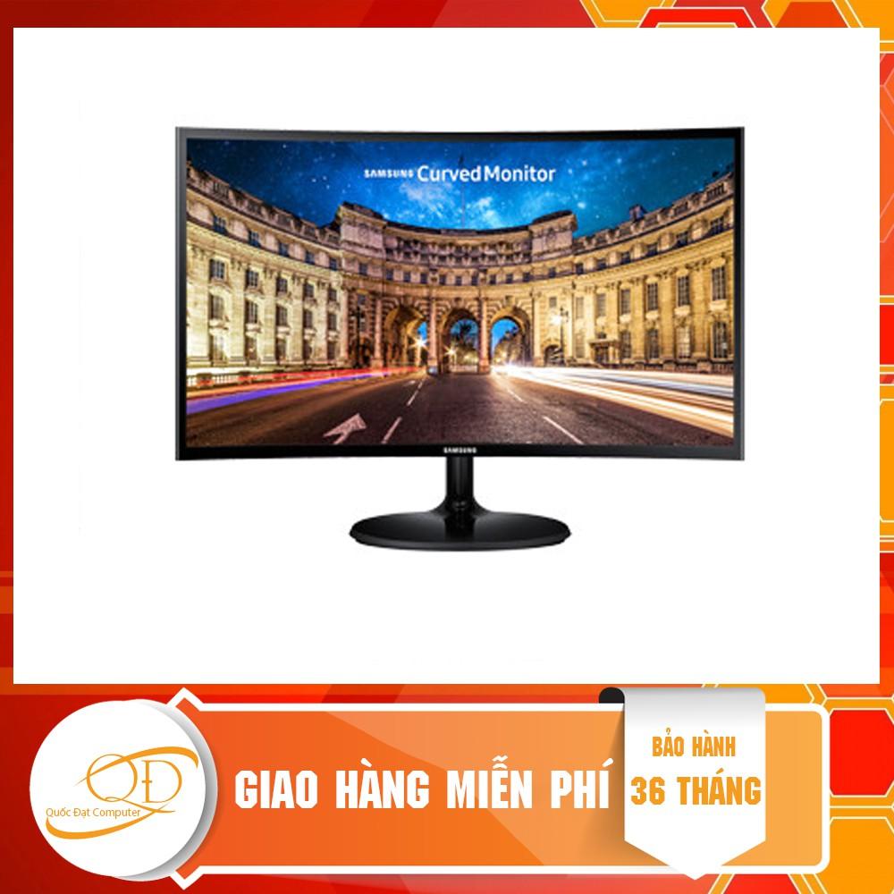 Màn hình Samsung LC27F390FHEXXV (27 inch/FHD/LED/PLS/250cd/m²/HDMI+VGA/60Hz/5ms/Màn hình cong)