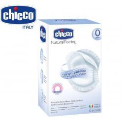 Miếng lót thấm sữa chống khuẩn Chicco hộp 12c