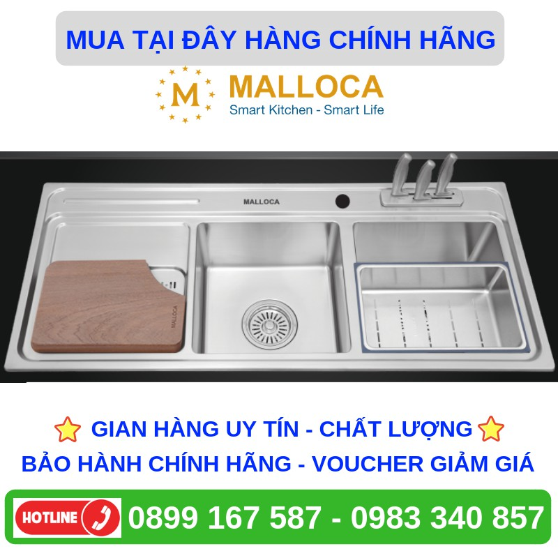 Chậu rửa chén Malloca MS