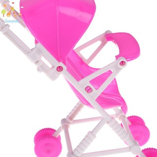 *Sun* Baby Stroller Infant Carriage Trolley Nursery Assembly Toys for Girls Doll