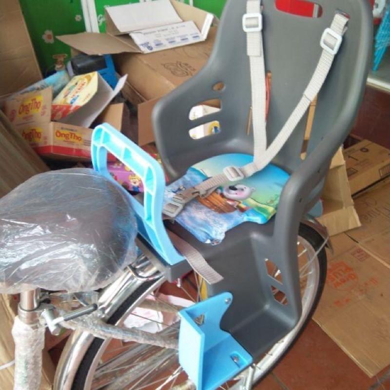 Ghế ngồi xe đạp nhựa Song Long chắc chắn cho bé