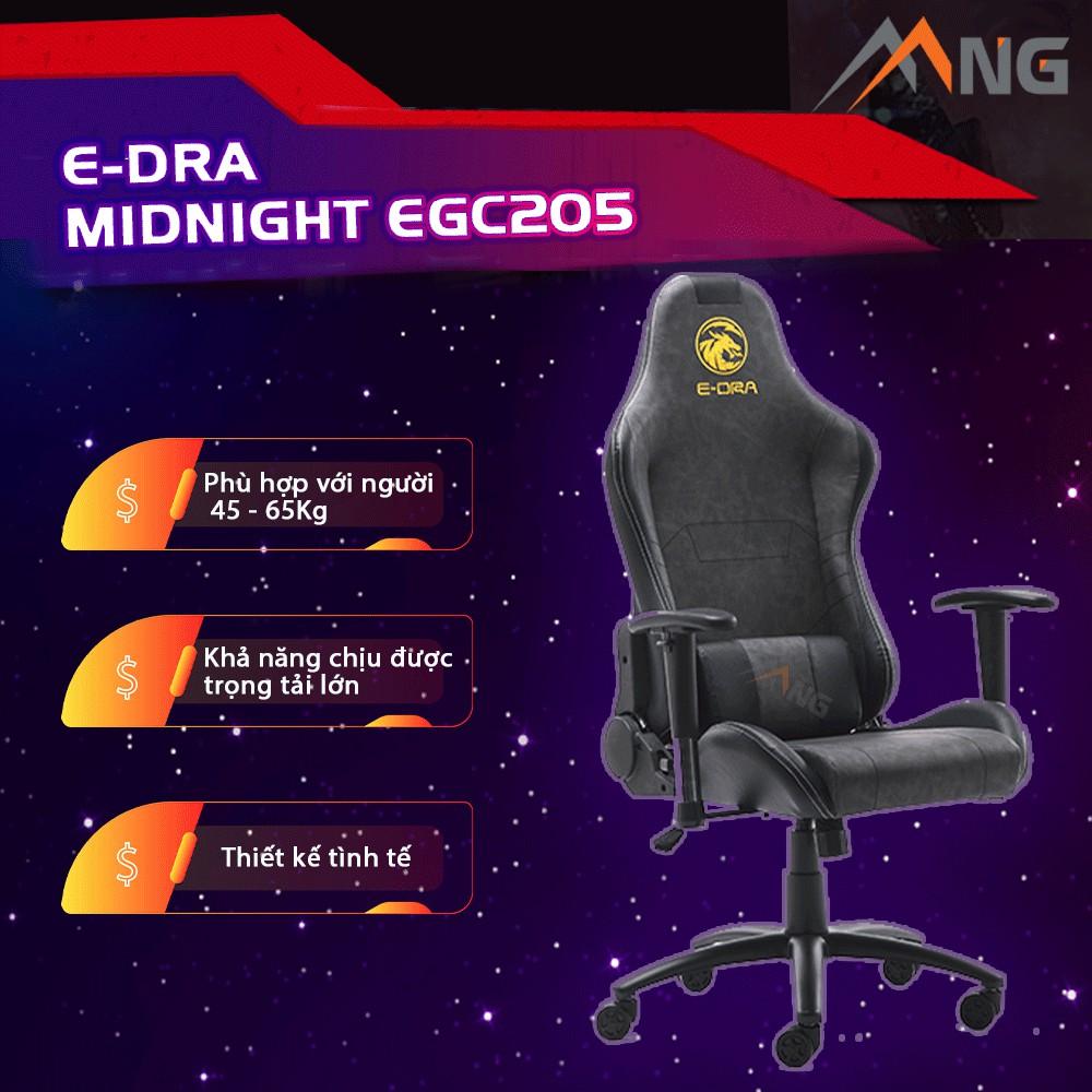 Ghế Chơi Game EDra MidNight EGC205 Ngả 180 Độ Nhiều Màu Chính Hãng Cao Cấp Bảo Hành 12 Tháng