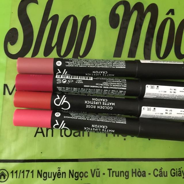 Son but Golden Rose matte lipstick crayon Thổ Nhĩ Kì